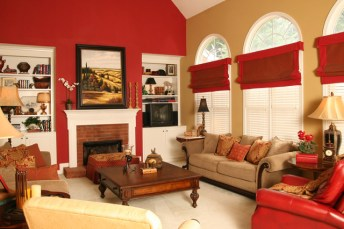 Warm-red-feature-wall-iadds-color-n-family-room