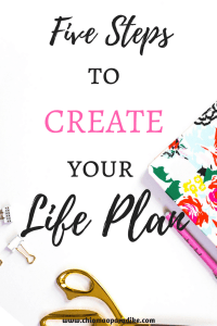 Create your life plan