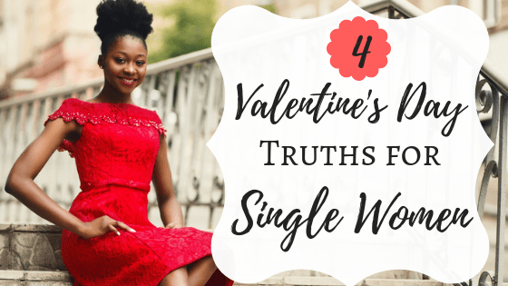 Single girl valentines day
