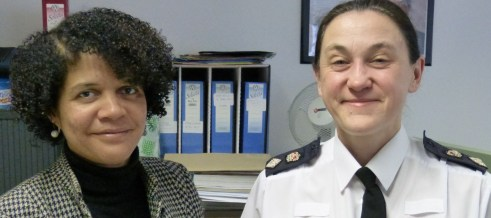Chi with Chief Superintendent Laura Young P11847 adj