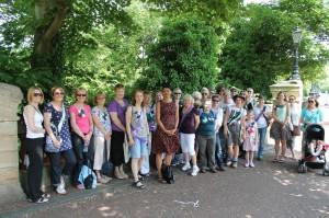 Walk for Women group