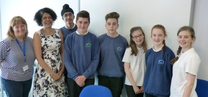 Chi Onwurah Kenton School F1 Competition TEAM Finalists