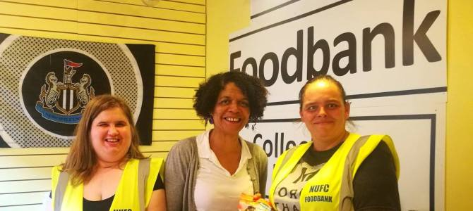 #StarWarssweeties free today at the NUFC Fans Foodbank with every donation