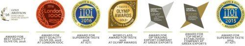 Cretan Olive Mill awards 1