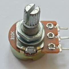10k Ohm Audio Control Potentiometer With Spst Switch Wiring Diagram Stop Start Jog A Volume Get Free