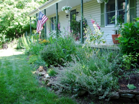 front-flowerbed