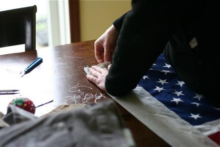 stitching-flag