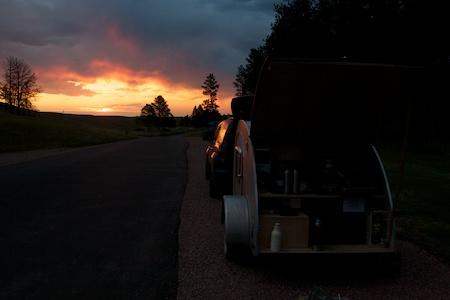 tiny trailer camping 4