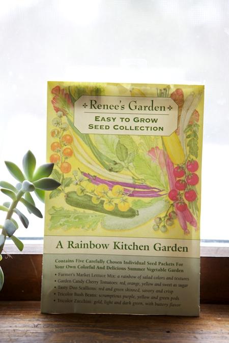 rainbow kitchen garden