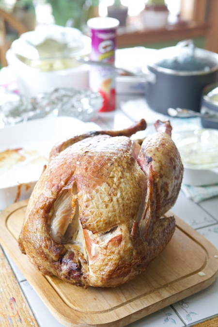 turkey dinner 1