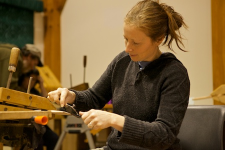 spoon carving class 2