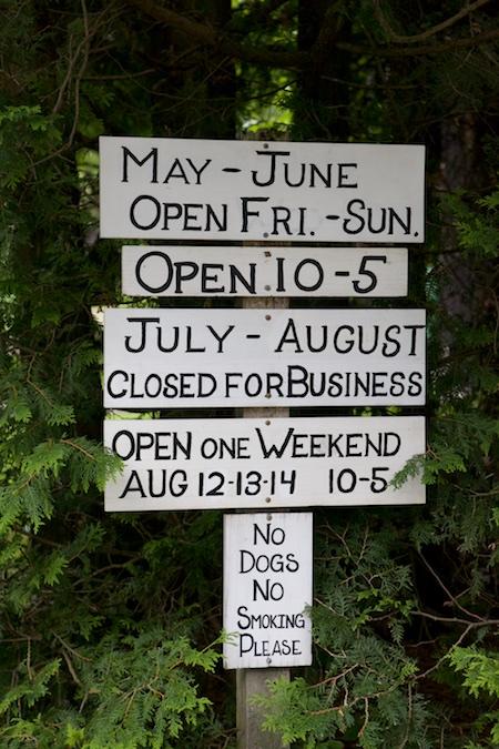 Cadys Falls nursery signs 3