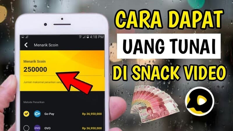 Auto Kaya! Berikut Cara Mendapatkan Uang di Snack Video dengan Cepat