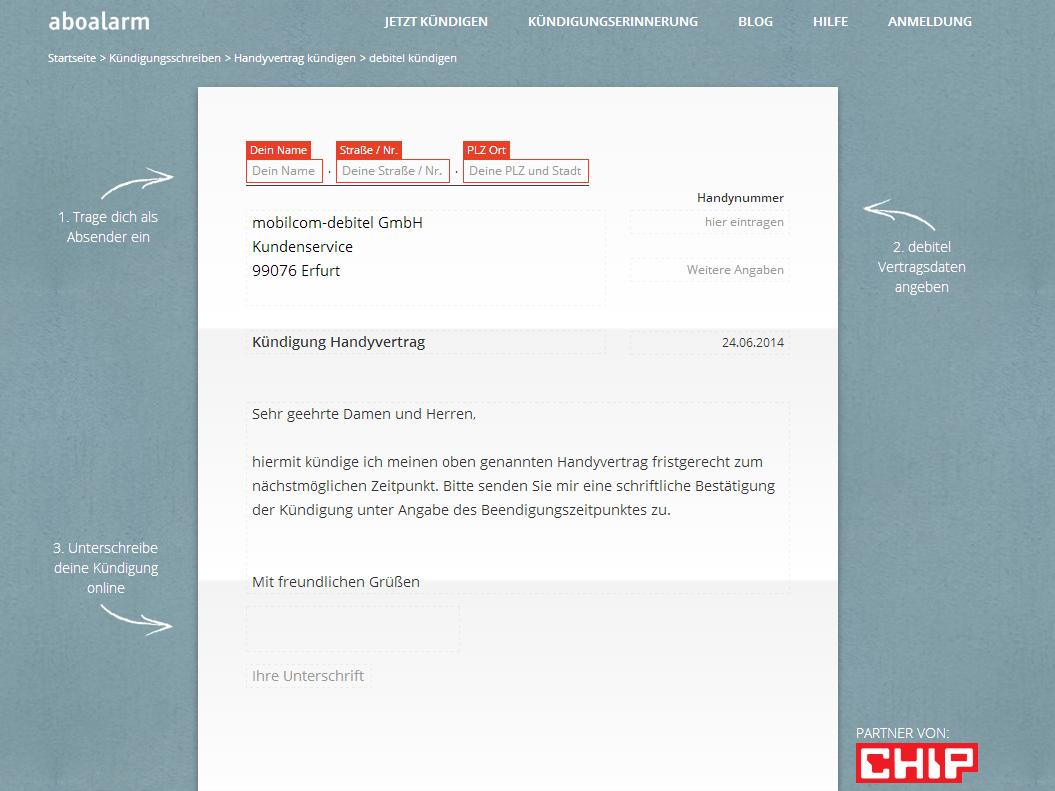 Vertrag Kündigen Vorlage Kostenlos Vodafone Vertrag Kündigen