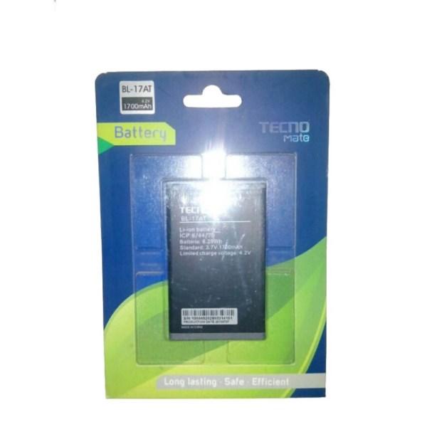 Tecno TV51, TV52, T733 Phone Battery BL - 17AT