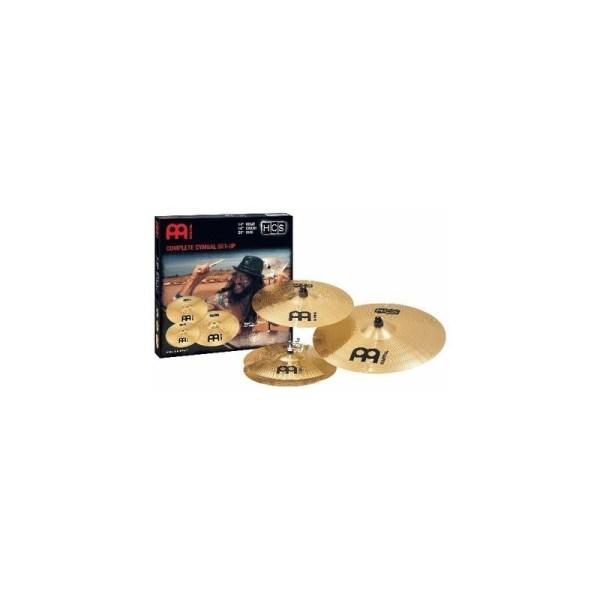 Meinl HCS Crash Cymbal and Hi-Hat Set