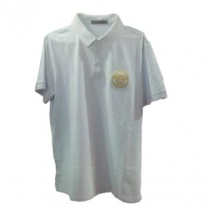 Versace Men's Polo Shirt-White