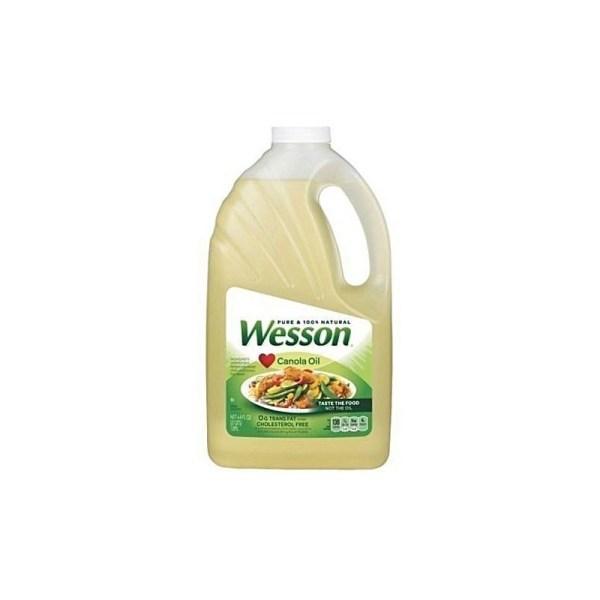 WESSON VEGETABLE OIL 4.73ltrs