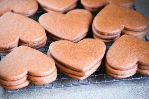 galletas para san valentin