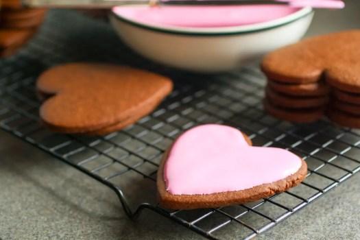 glaseado facil para galletas