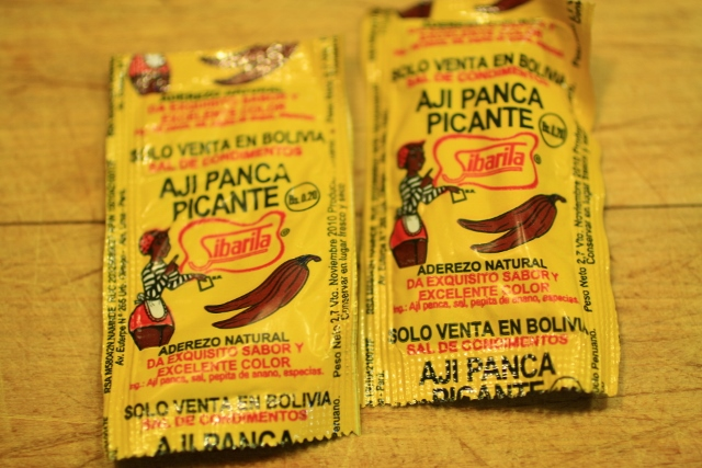 ground bolivian chilli pepper, panca