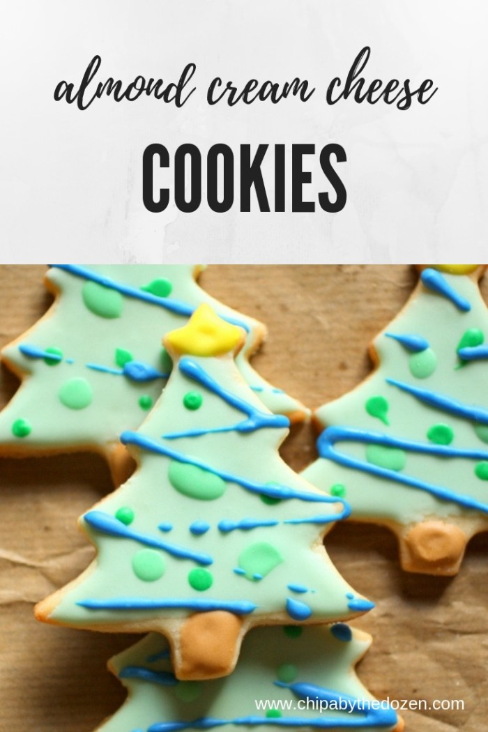 Almond Cream Cheese Sugar Cookies