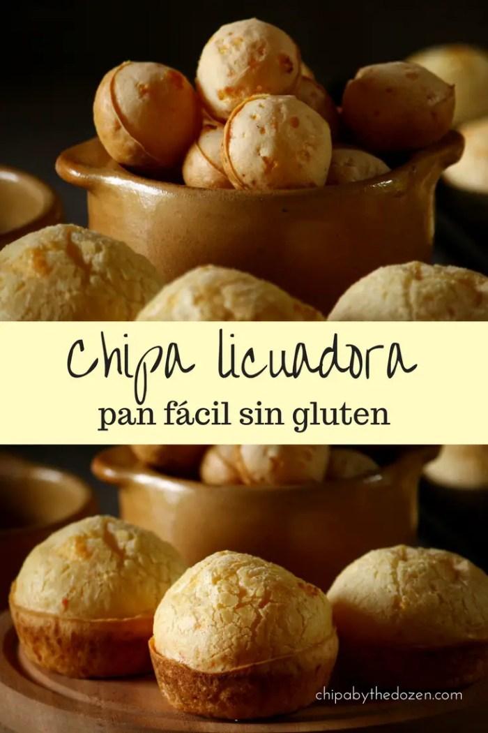 Chipa licuadora - pan fácil sin gluten