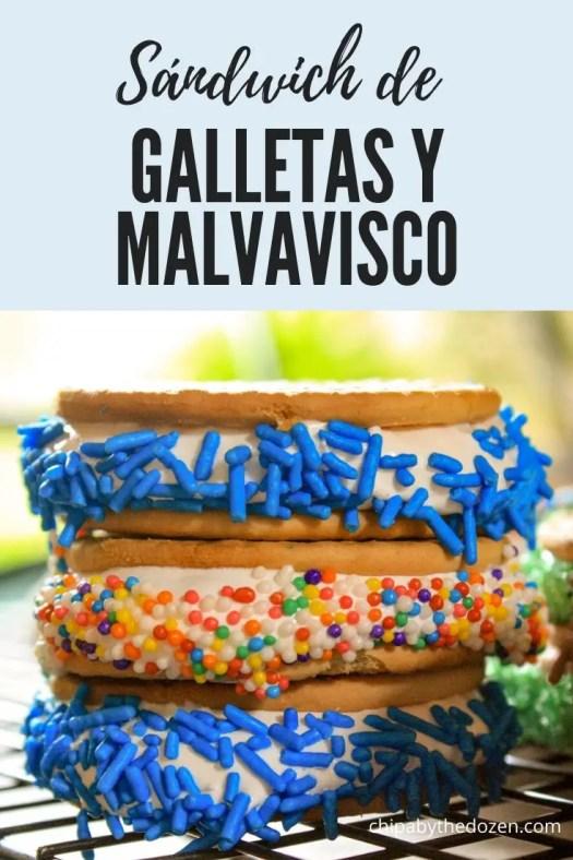 Sándwich de Galletas y Malvavisco Casero