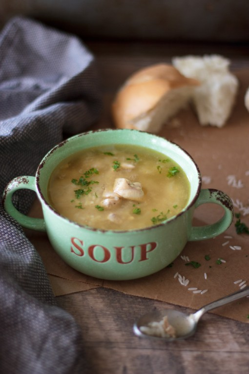 BRAZILIAN CHICKEN AND RICE SOUP – CANJA
