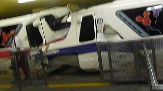 Disney monorail crash kills conductor with video
