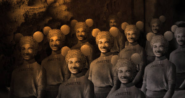 Legion Of Terra-Cotta Mouseketeers Found Beneath Disney World
