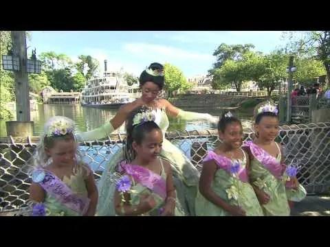 Princess Tiana Bibbidi Bobbidi Boutique makeover at the Magic Kingdom