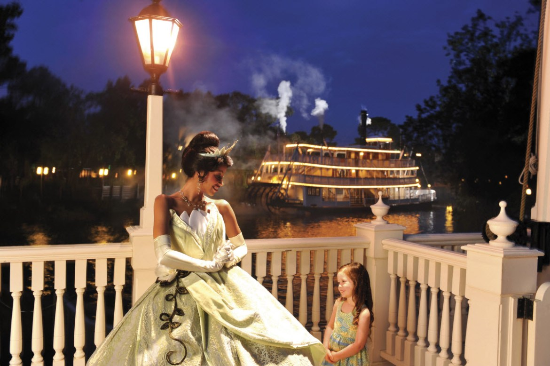 Princess Tiana makes her WDW debut