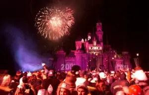 New Years Eve crowds = Free Disneyland Passes