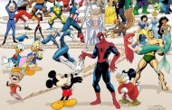 Most Epic Disney Marvel Mashup Poster EVER!