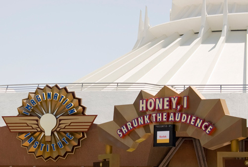 Disneyland one Step Closer to Opening Captain EO