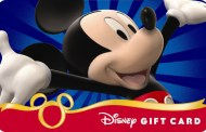 *New* Walt Disney World Vacation Offer - Free Disney Gift Card