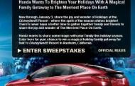 2009 Honda Holiday Family Gathering Sweepstakes