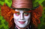Behind the scenes with Johnny Depp in Alice in Wonderland