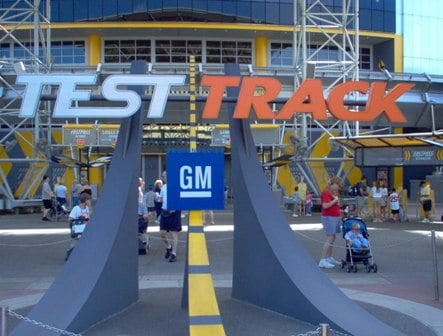 So long General Motors from Epcot's Test Track