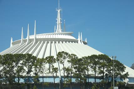 Disney World Space Mountain Post Show with the New Ending