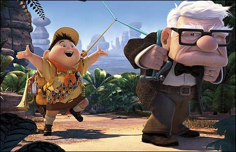 """Disney Pixar Movie """"Up"""" wins Best Animated Picture at 2010 Oscars"""