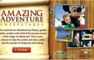 Disney's Amazing Adventure Sweepstakes