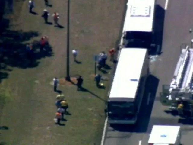 *Breaking News* 8 Hurt In Disney World Bus Crash