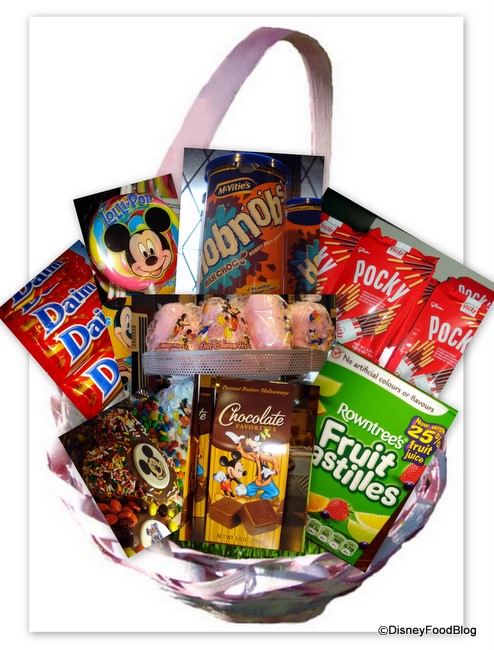 Making the Perfect Disney Easter Basket