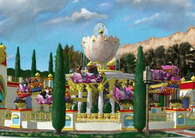 Toyko Disney Resort – Jasmine's Flying Carpets to open 2011