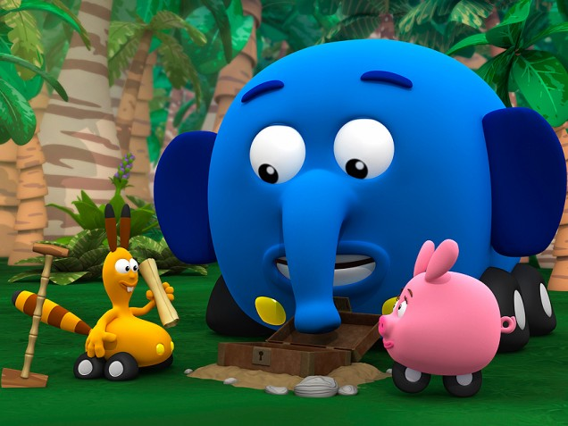 """Second season of the Playhouse Disney animated series """"Jungle Junction"""" has been ordered by Disney Channel"""
