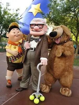 Walt Disney World Character Changes for April 2010