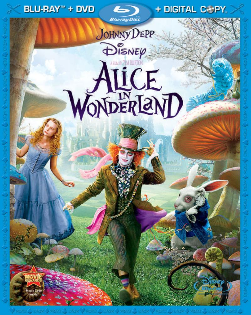 """Alice in Wonderland """"Tag Your State"""" Sweepstakes"""