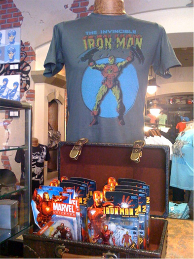 Marvel merchandise makes debut at Disneyland Resort